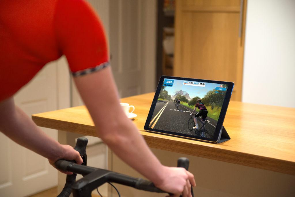 zwift app per ciclismo