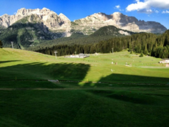 Golf in montagna