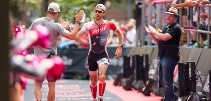 Giulio Molinari e il suo allenamento per l'Ironman