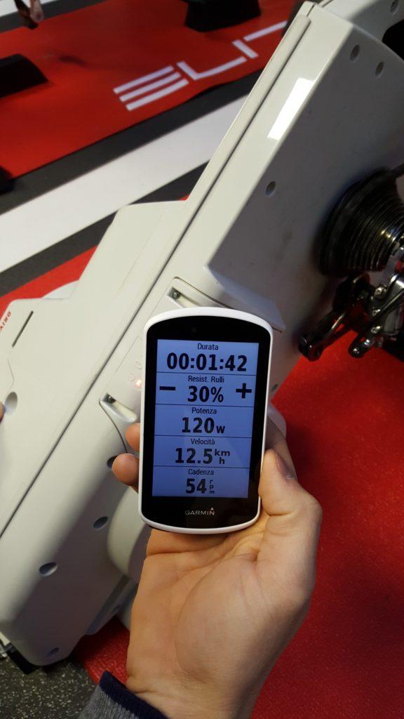 Garmin Edge 1030 - allenamento rulli