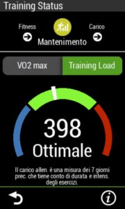 allenamento rulli - training load