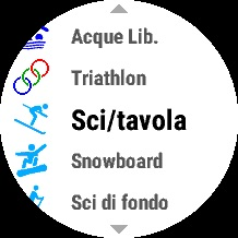 Sci - ski mode Garmin fenix5