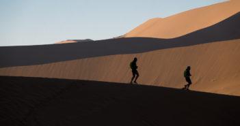 Sulle tracce di Stefano Gregoretti e Ray Zahab e della loro Trans Namibia Expedition