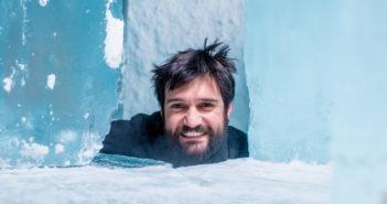 Nell'Ice Hotel con lo scultore Maurizio Perron e Garmin VIRB 360