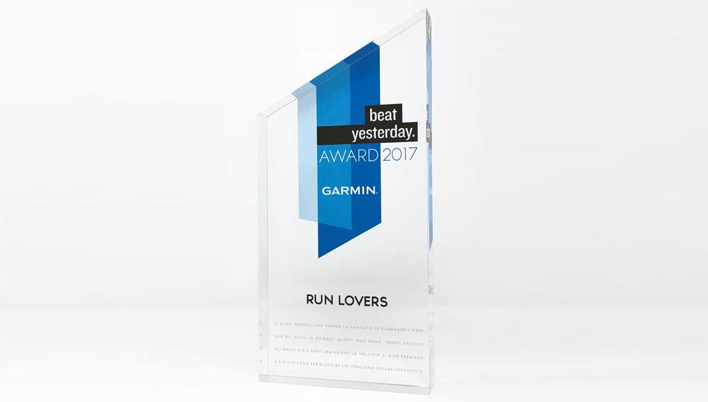 Garmin Beat Yesterday Awards 2017 - Run Lovers