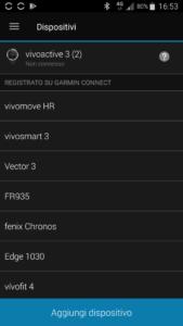 configurazione vivofit4