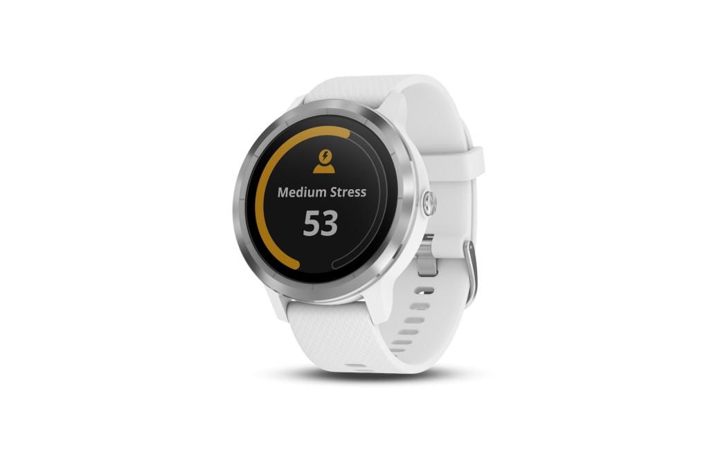 Garmin vìvomove HR - widget timer relax