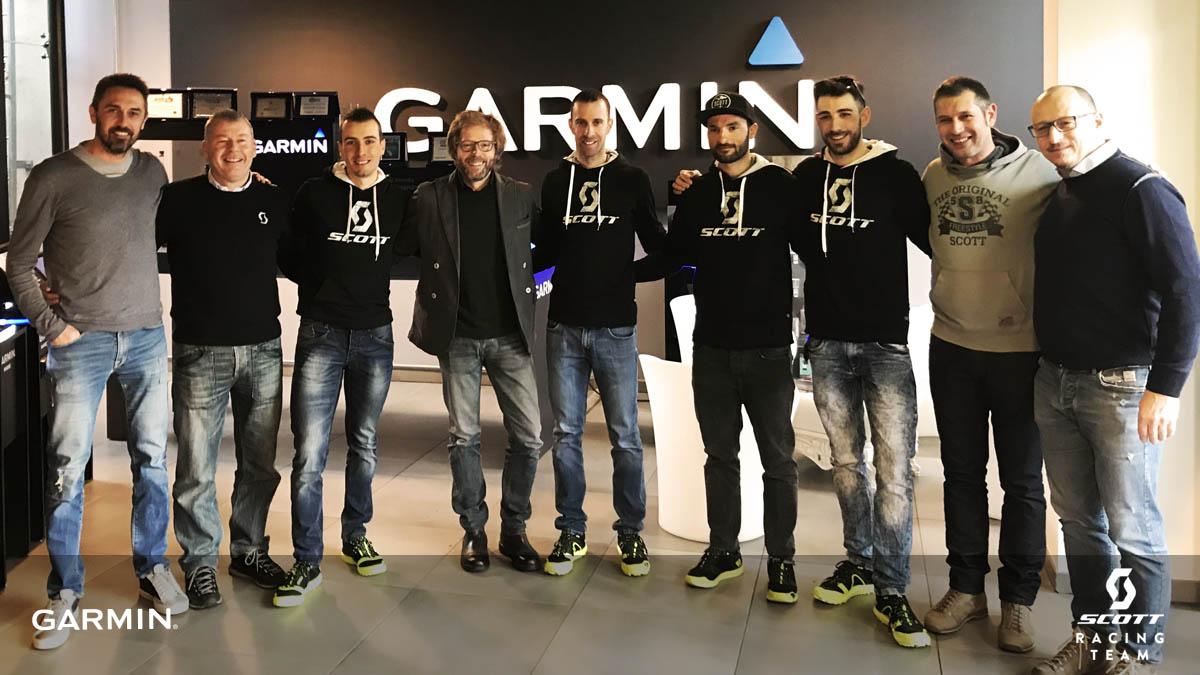 SCOTT Racing Team e Garmin