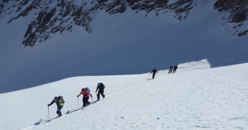 Scialpinismo, alleniamoci con la Garmin VIRB 360