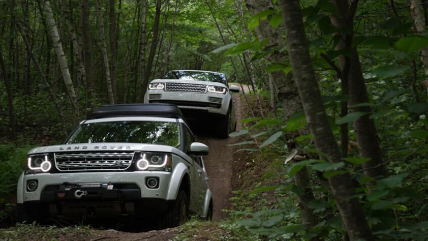 Garmin Land Rover Experience