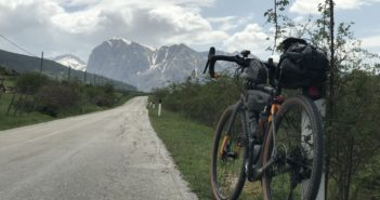 Viaggiare in bikepacking con Garmin Edge 1030