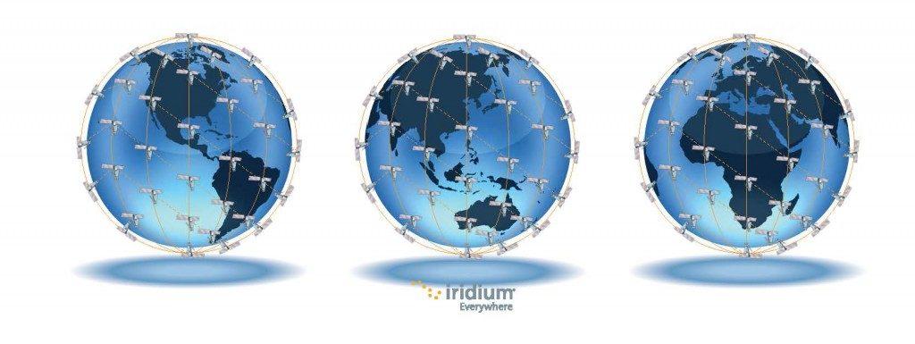 Iridium Copertura satellitare1