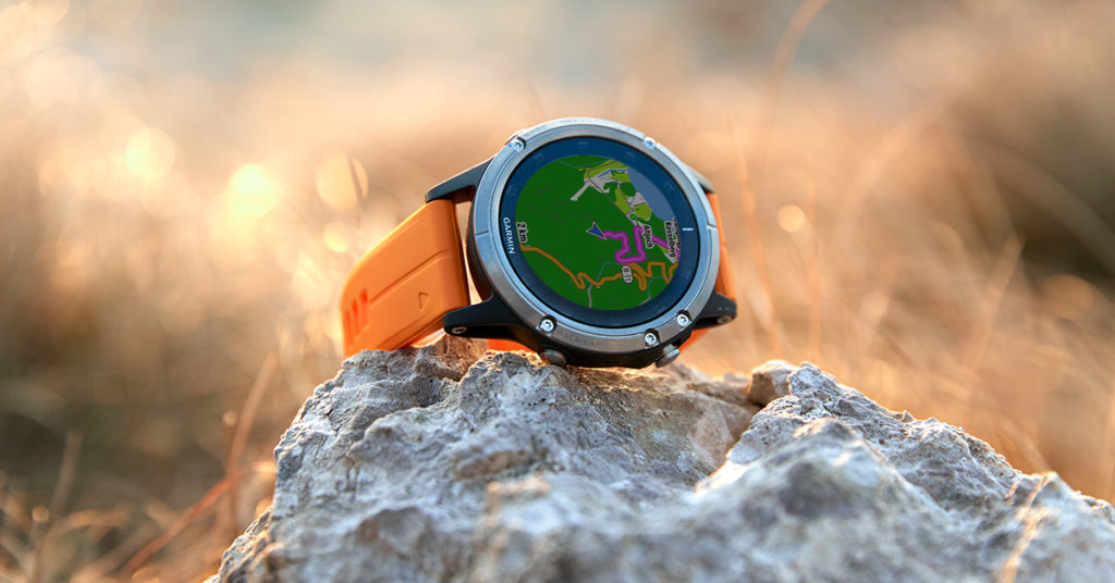 Garmin fenix5 Plus - outdoor