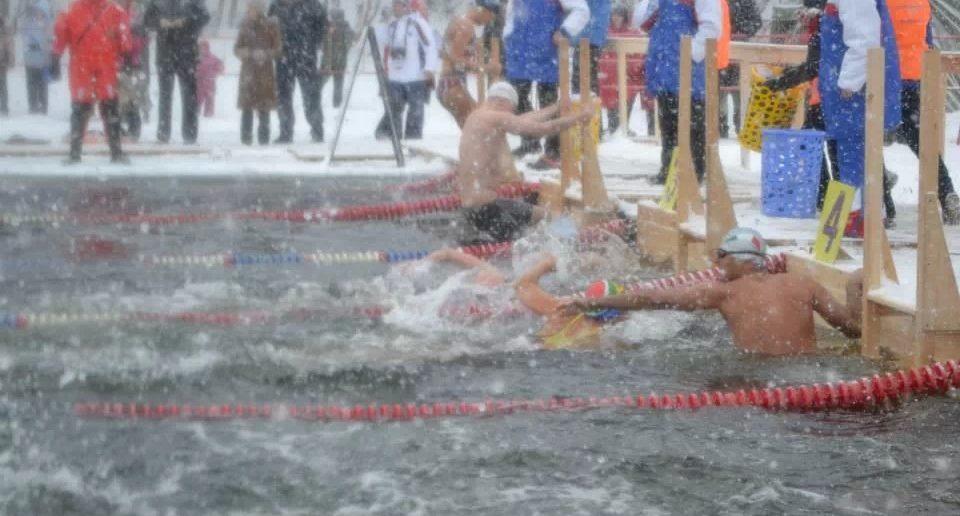 nuoto estremo in antardide