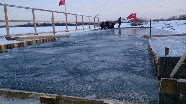 nuoto estremo nel ghiaccio