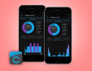 monitoraggio del sonno garmin connect