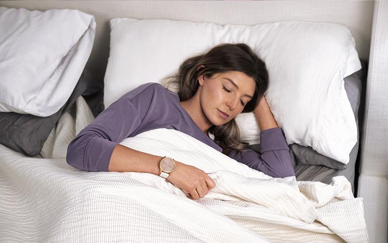 monitoraggio del sonno wearable garmin