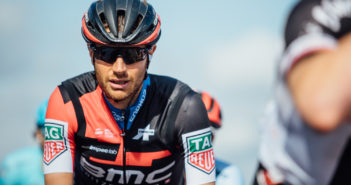 Damiano Caruso al Tour de France con Garmin Edge 130
