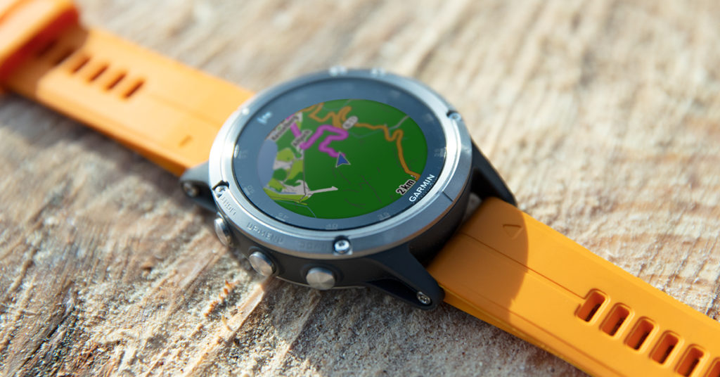 Garmin fenix 5 plus - outdoor