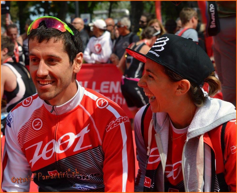 Giulio Molinari Carlotta Bolis - allenamento per la maratona