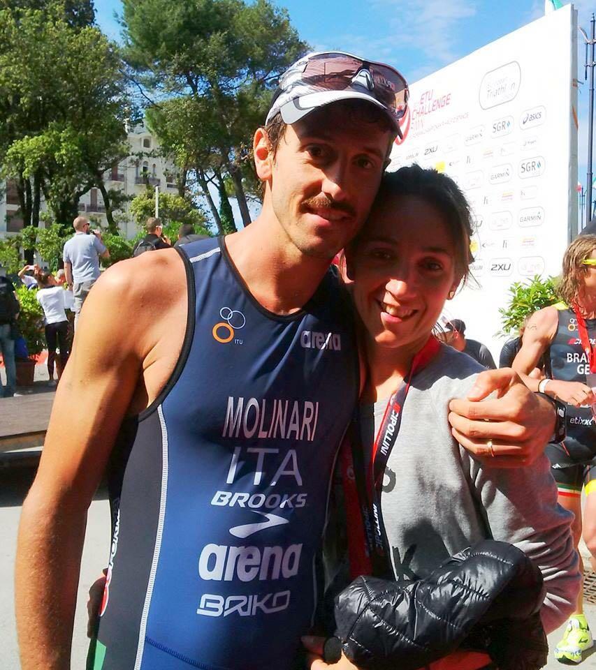 Giulio Molinari e Carlotta Bolis - allenamento per la maratona