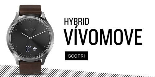 vivomove HR smartwatch ibrido