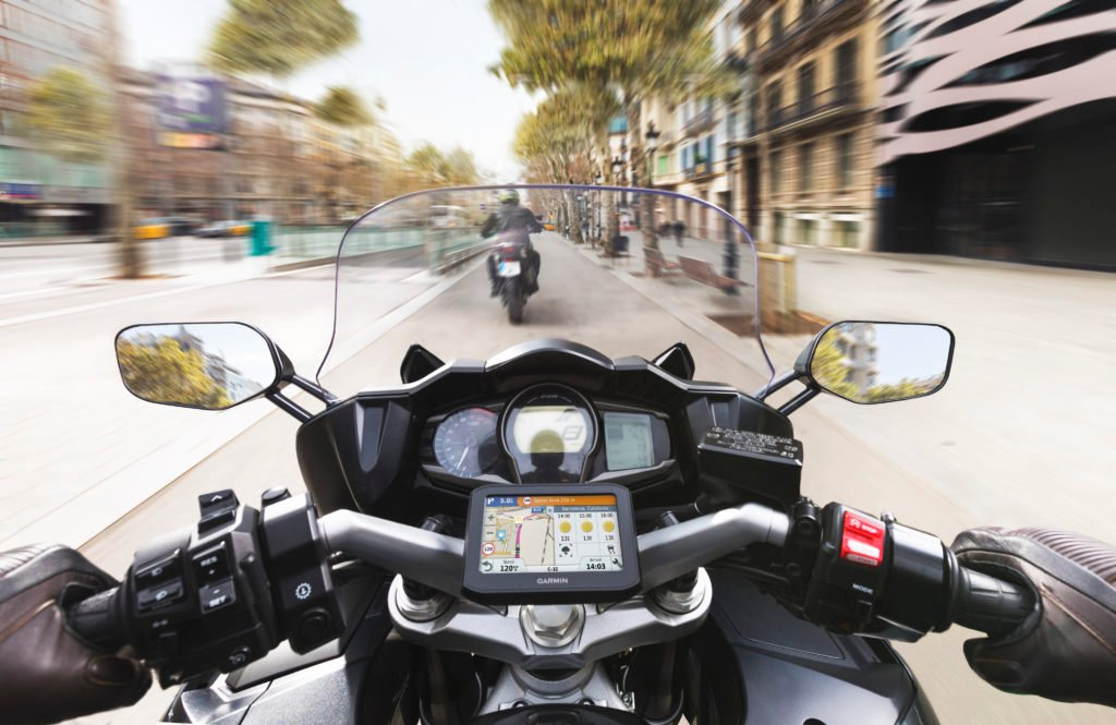 il miglior navigatore per moto