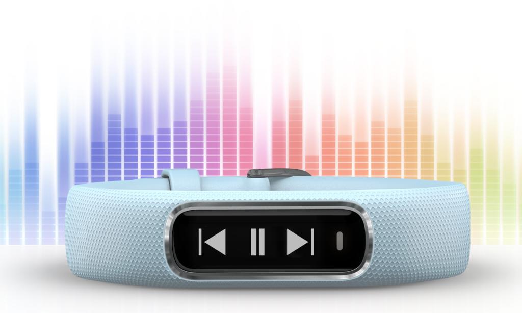 vivosmart 4 smartband con musica