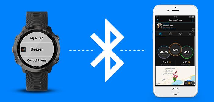 connessione cardiofrequenzimetro bluetooth e smartphone