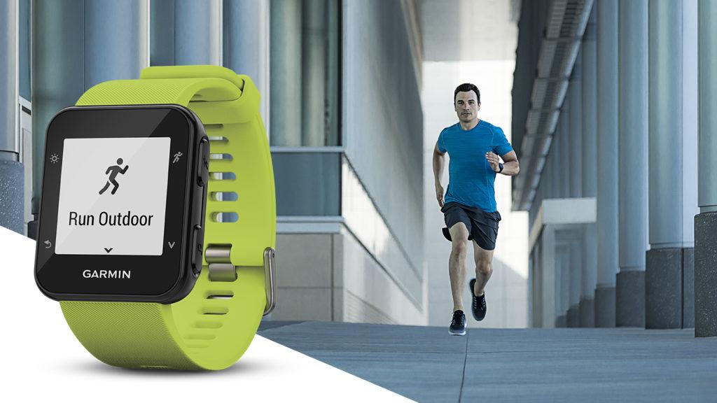 forerunner 35 running