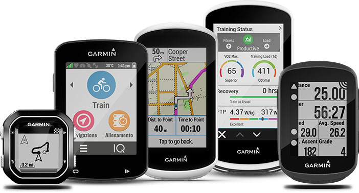 ciclocomputer wireless garmin