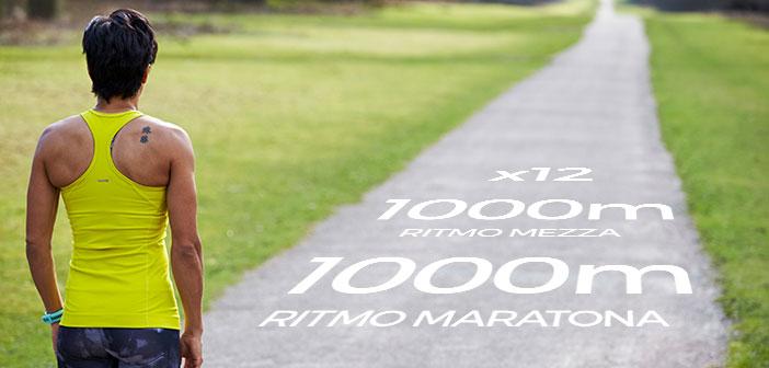 ripetute per la maratona