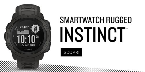Instinct rugged smartwatch
