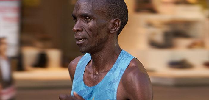 record maratona Kipchoge