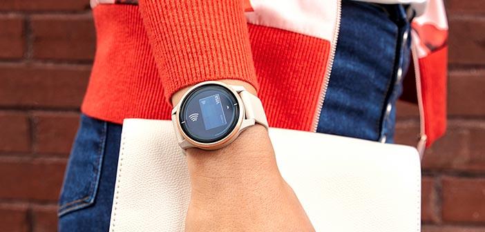venu smartwatch pagamenti contactless