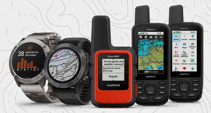 gps trekking orologi e portatili