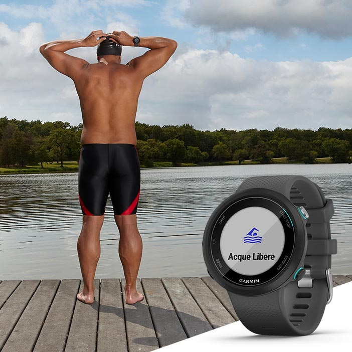 smartwatch nuoto in acque libere