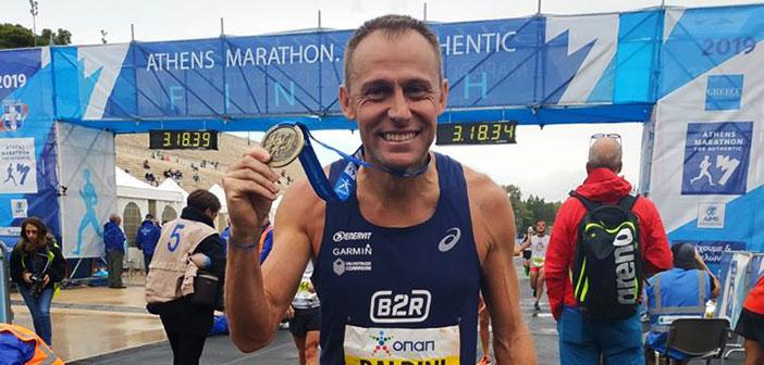 Come gestire una maratona perfetta? I dati del Forerunner di Stefano Baldini