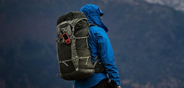 zaino per trekking in montagna