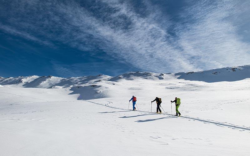 scialpinismo abbigliamento invernale