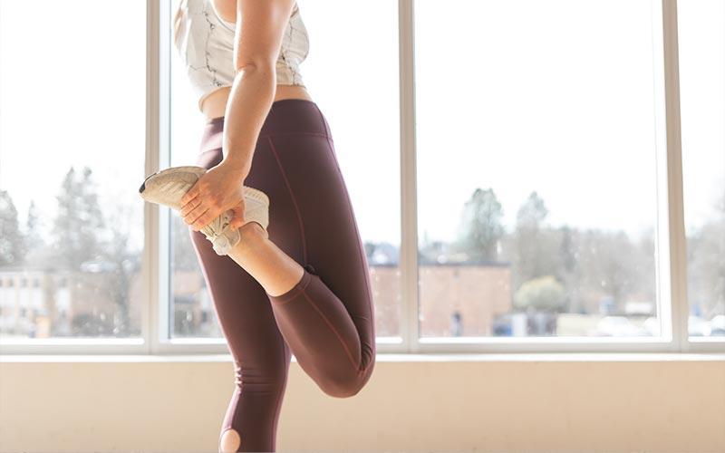 stretching prima di correre