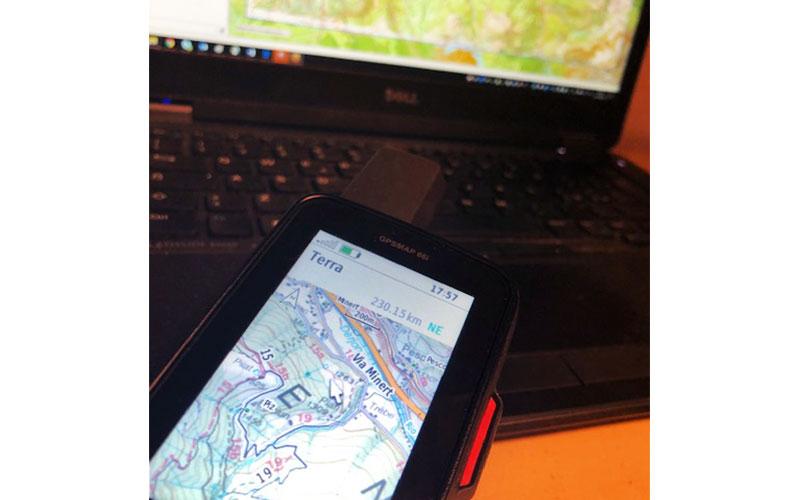 inviare custom map a gpsmap garmin