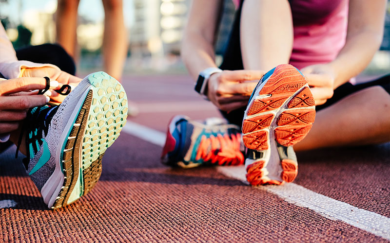 scarpe triathlon corsa e bici