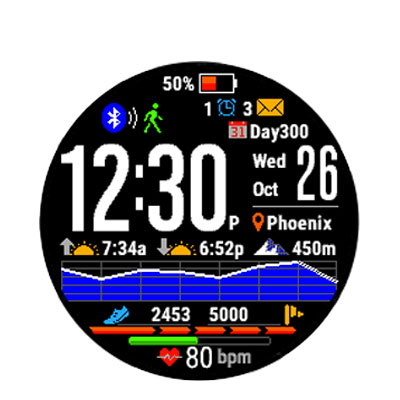 gearmin quadrante smartwatch