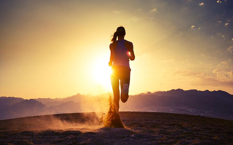 correre nel deserto acclimatamento