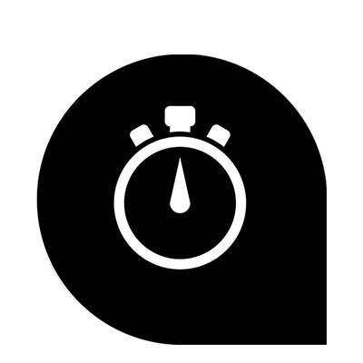 cronometro widget garmin