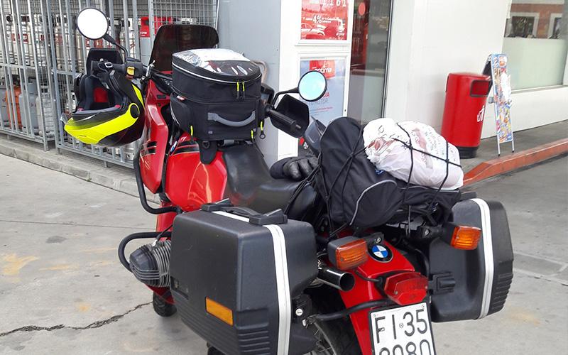 moto santiago de compostela