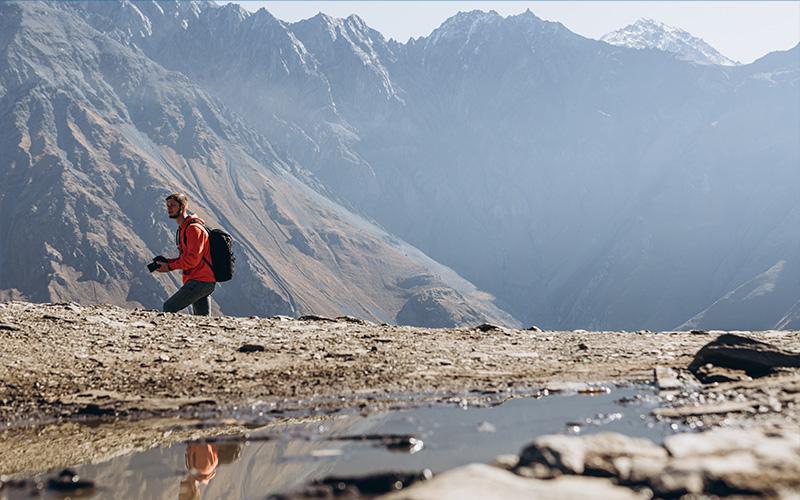 allenamento per trekking